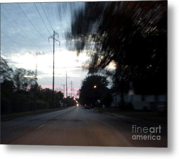 The Passenger 03 Metal Print