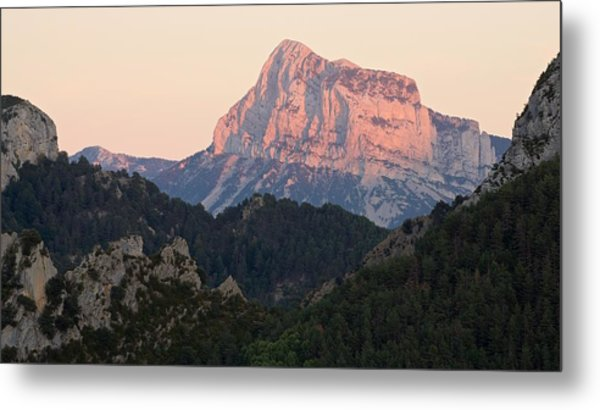 Metal Print featuring the photograph The Pena Montanesa by Stephen Taylor