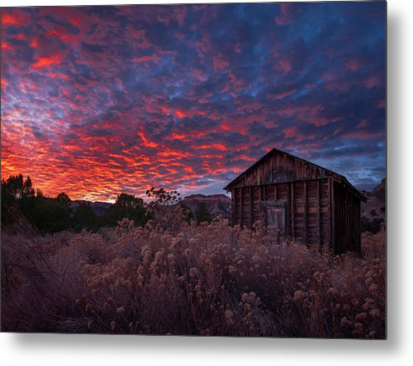 Metal Print featuring the photograph The Perfect Sunset by Edgars Erglis