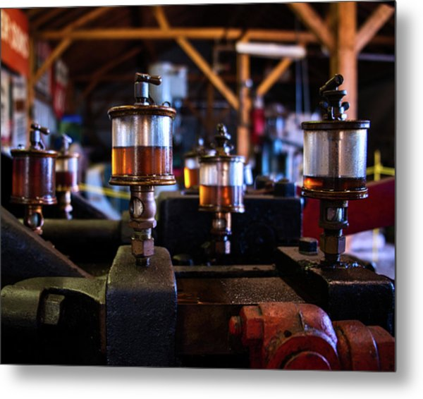 Metal Print featuring the photograph The Power Of Oil by Mark Dodd