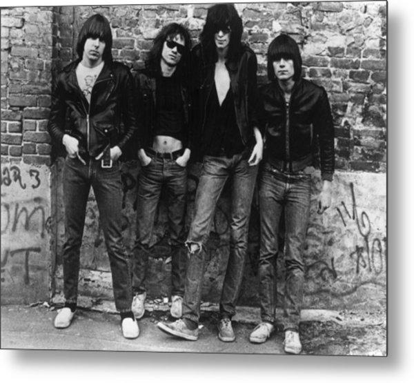 The Ramones Metal Print by Roberta Bayley