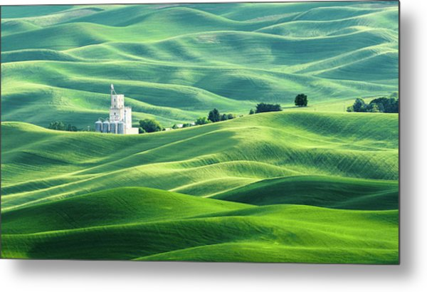 The Rolling Fields Of Palouse Metal Print