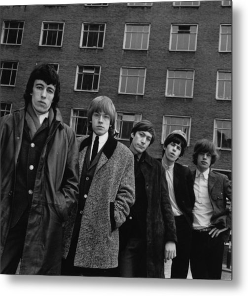 The Rolling Stones Metal Print by Evening Standard