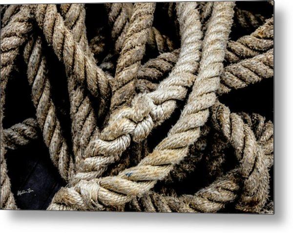 The Rope Metal Print