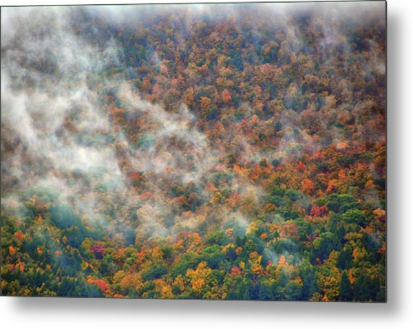 Metal Print featuring the photograph The Shoulder Of Greylock by Raymond Salani III