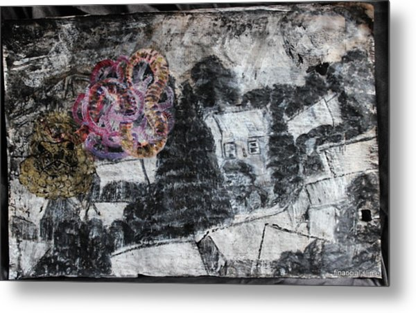 The Slow And Winding Tale Of Destruction Metal Print