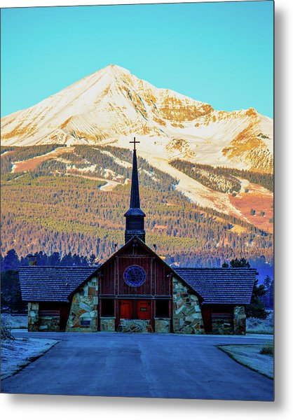 Metal Print featuring the photograph The Soldiers Chapel by Pete Federico