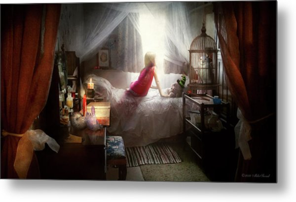 Metal Print featuring the photograph The Sorcerer's Apprentice by Mike Savad - Abbie Shores