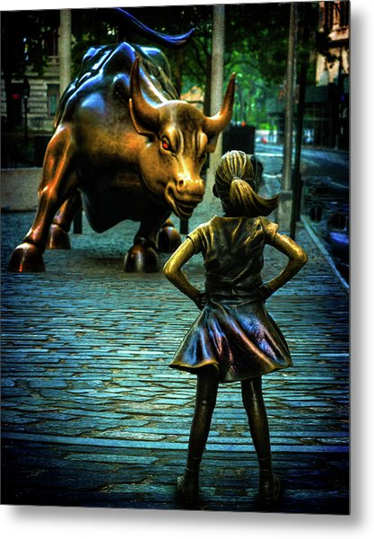 Metal Print featuring the photograph The Standoff by Chris Lord