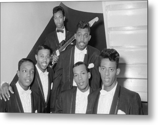 The Temptations Backstage At The Apollo Metal Print