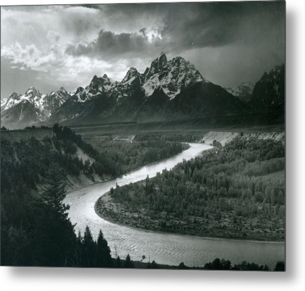 The Tetons - Snake River Metal Print