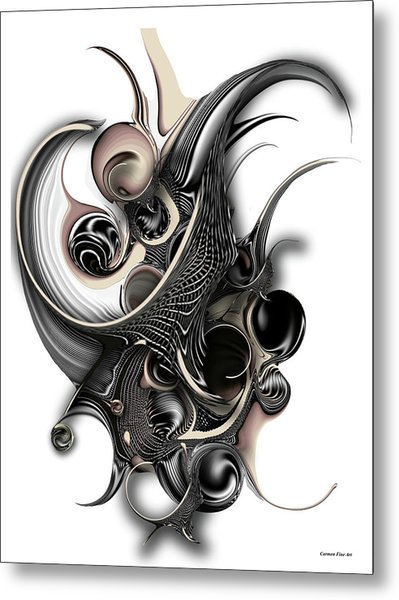 The Unfolding Purity Metal Print