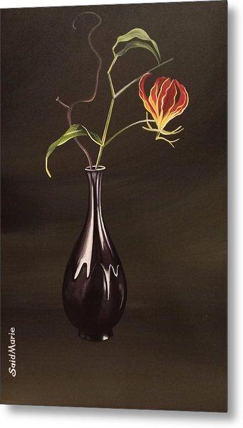 The Vase Metal Print
