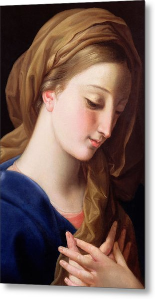 The Virgin Annunciate Metal Print