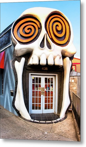 The Vortex In Eclectic Little Five Points Metal Print