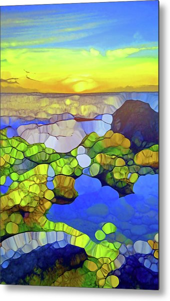 The Water Speaks To Our Souls Metal Print