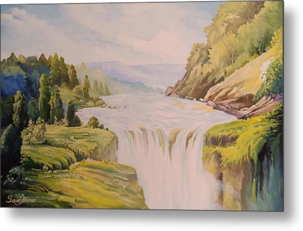 The Waterfall Metal Print