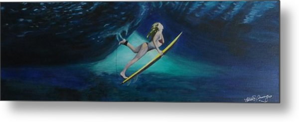The Wedge - Duck Dive Metal Print