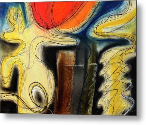 The Whirler Metal Print