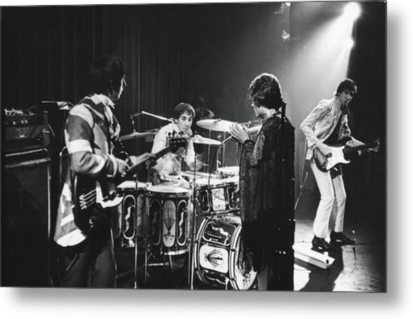 The Who At The Fillmore East Metal Print by Fred W. McDarrah