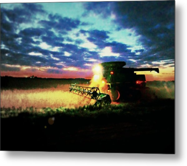 There Goes The Beans Metal Print
