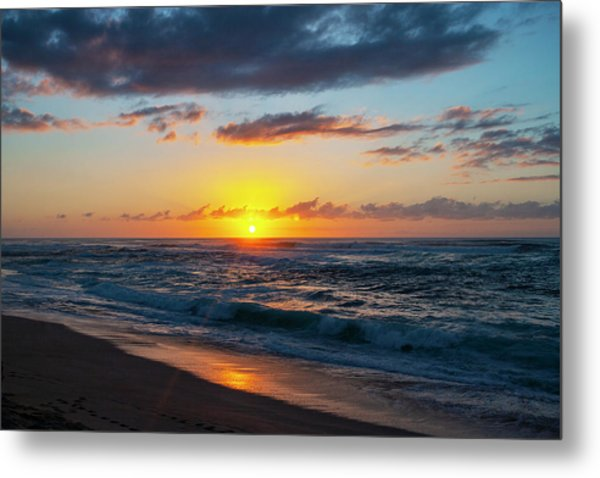 This Is Why They Call It Sunset Beach Metal Print