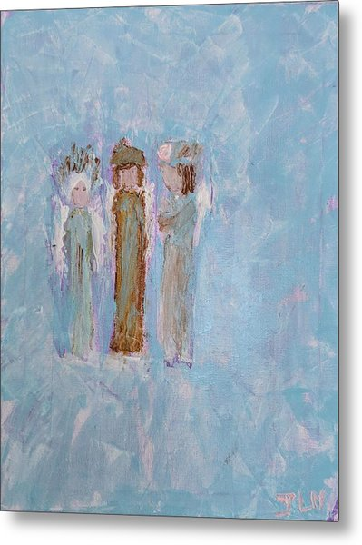 Angels For Appreciation Metal Print