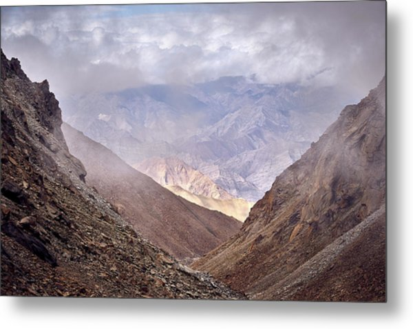 Metal Print featuring the photograph Through The Valley by Whitney Goodey
