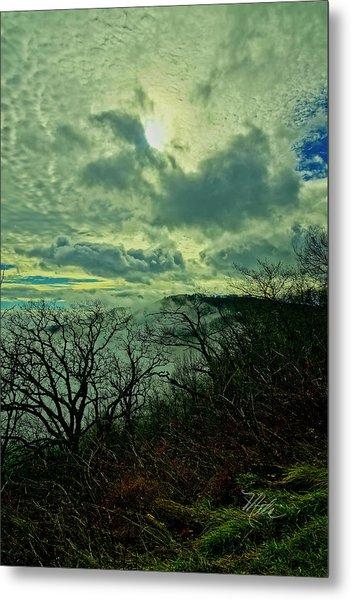 Thunder Mountain Clouds Metal Print