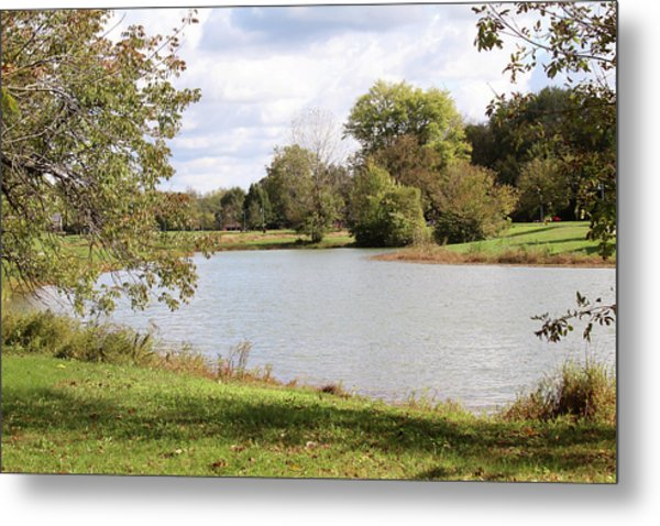 Thurman-hutchins Park - Louisville Metal Print