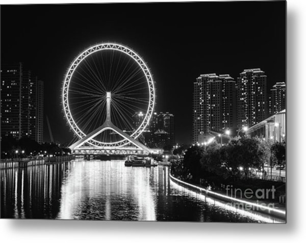 Tianjin Eye Metal Print