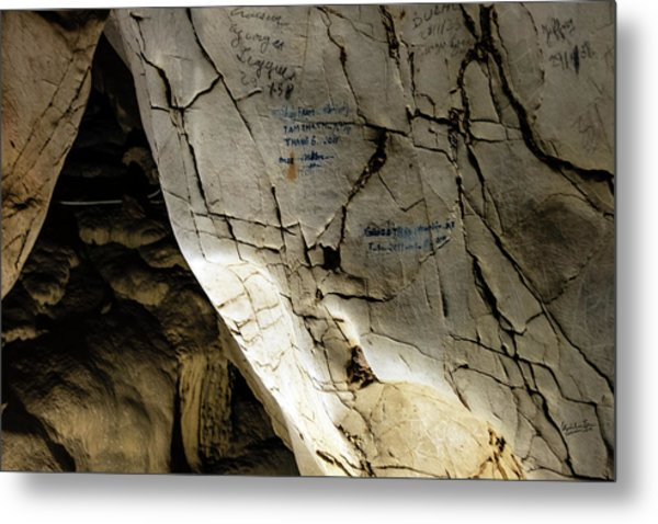 Tien Ong Cave - Halong Bay, Vietnam Metal Print