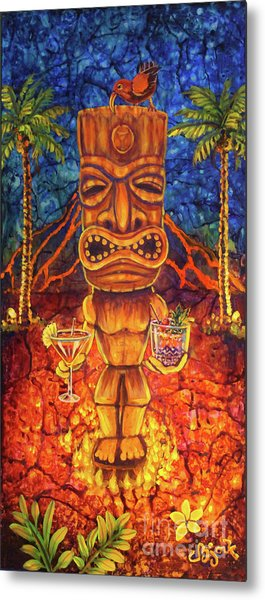 Tiki Cocktail Hour Metal Print