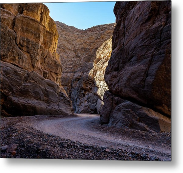 Metal Print featuring the photograph Titus Canyon I by William Dickman