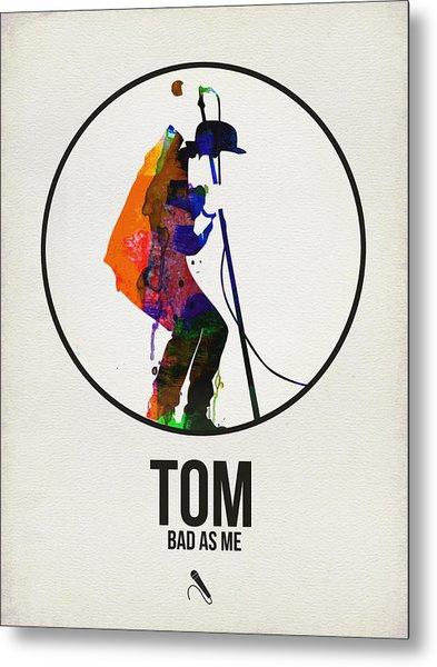 Tom Waits II Metal Print
