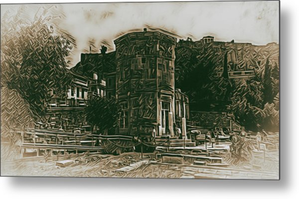Tower Of The Winds Metal Print