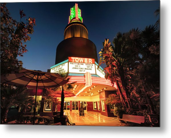 Tower Theater- Metal Print