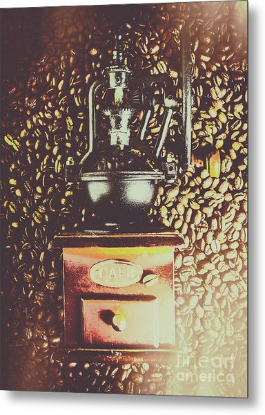 Traditional Cafe Metal Print