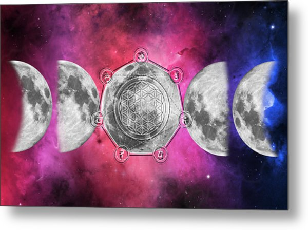 Metal Print featuring the digital art Transformation by Bee-Bee Deigner