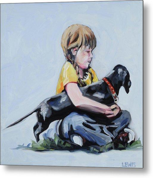 Treasured Dog Metal Print by Anne Lewis