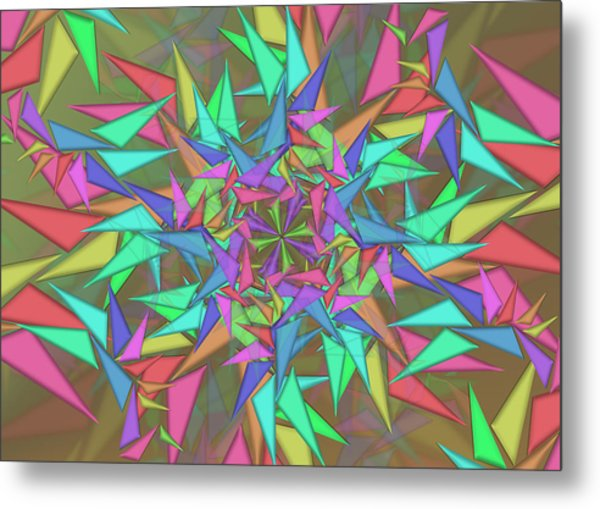 Trigonometry Metal Print