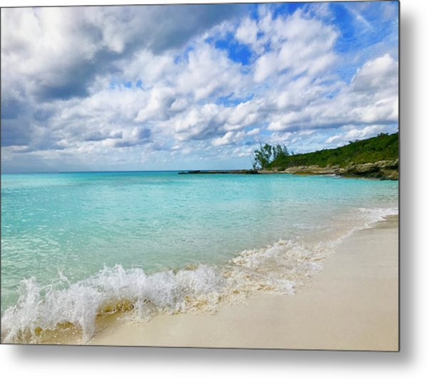 Tropical Beach Metal Print