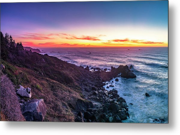True Love By The Solstice Sunset Metal Print