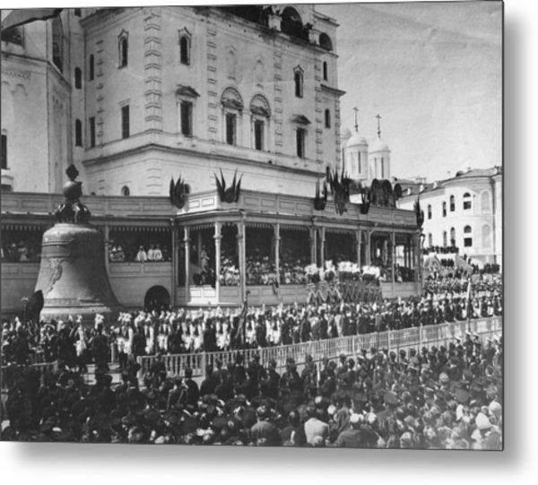 Tsars Coronation Metal Print by Hulton Archive