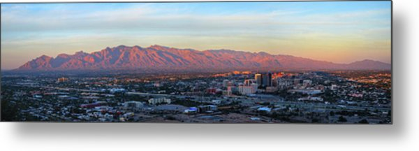 Metal Print featuring the photograph Tucson At Last Light by Chance Kafka