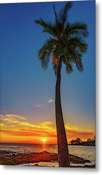 Tuesday 13th Sunset Metal Print