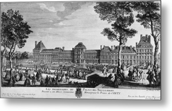 Tuileries Palace Metal Print by Hulton Archive