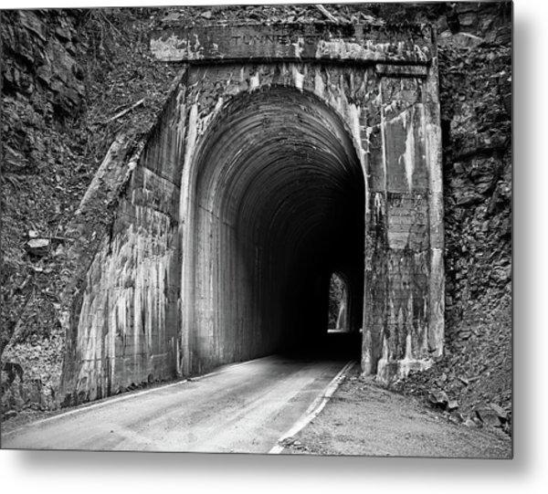 Tunnel Metal Print by Leland D Howard