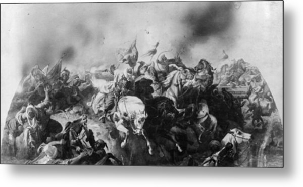Turkish Defeat Metal Print by Hulton Archive