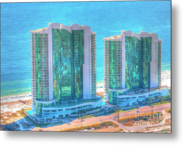 Turquoise Place Metal Print